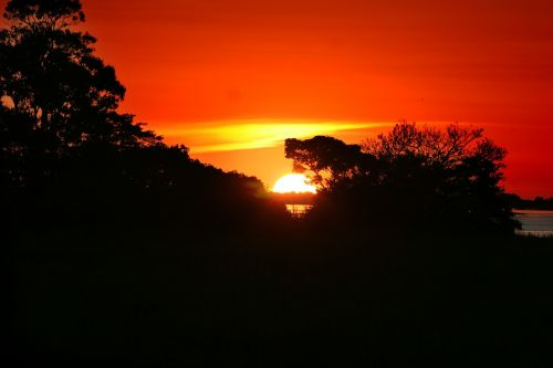 amazonia sunset amazon river