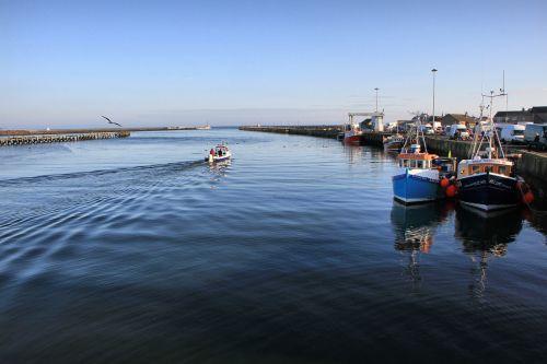 amble northumberland harbour