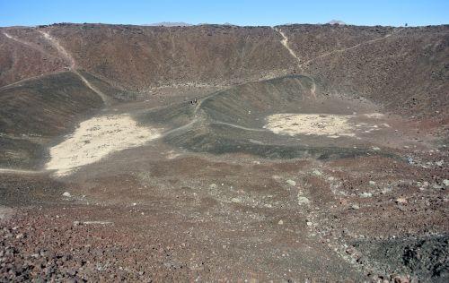 amboy crater interior crater