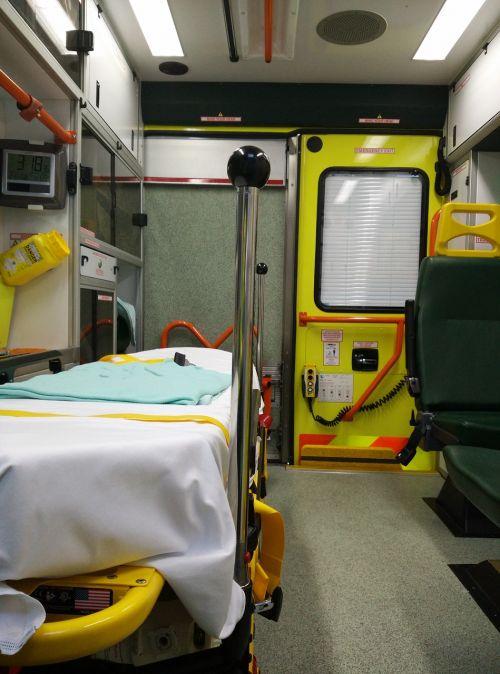 ambulance wear interior view