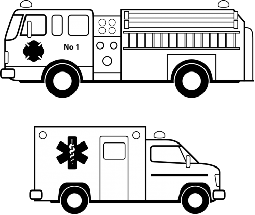 ambulance emergency fire