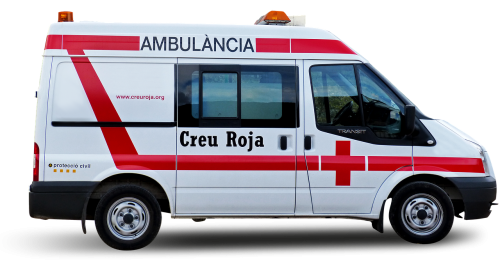 ambulance red cross assistance