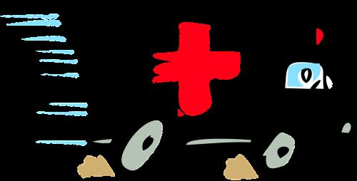ambulance paramedic red