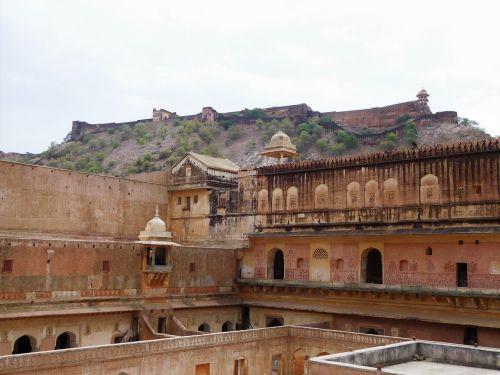 amer fort jaipur indian