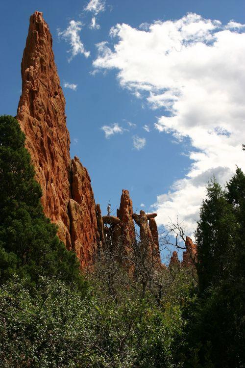 america garden of the gods landscape