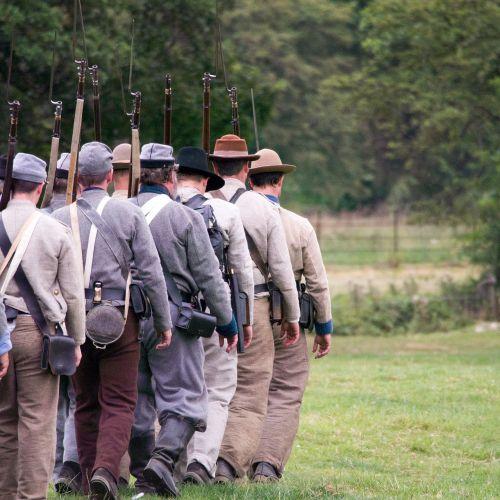 american civil war re-enactment history