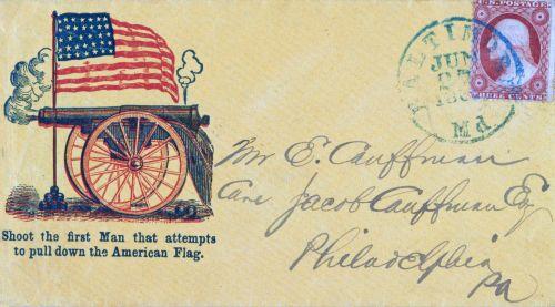 American Civil War Envelope
