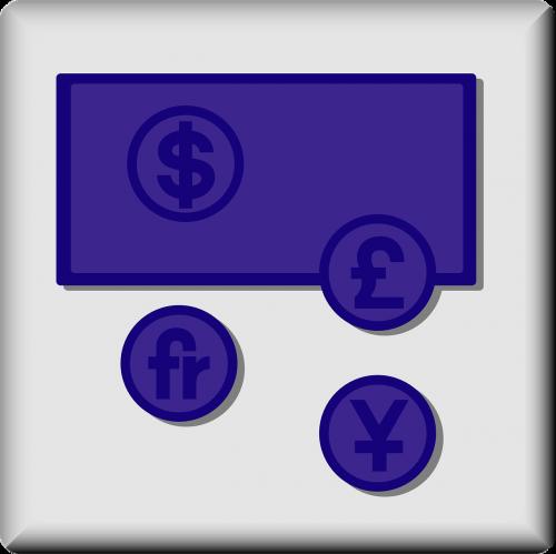 american dollar symbol british pound symbol japanese yen symbol