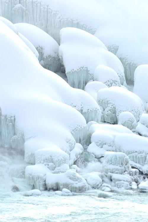 american falls niagara falls winter