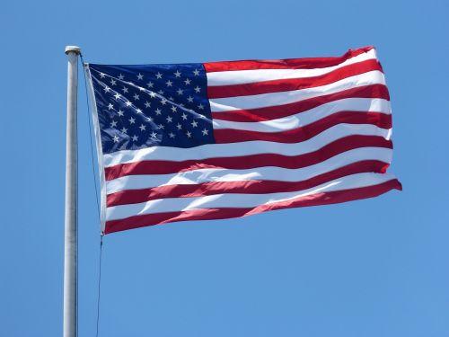 american flag flag waving 4th
