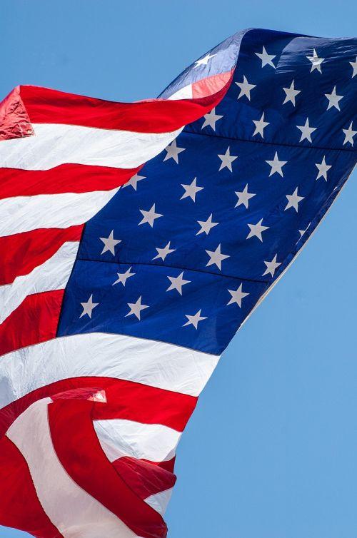 american flag flag waving flag
