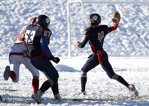 american football football quarterback