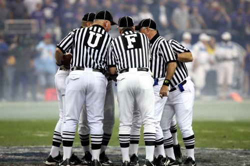 american football american football officials referees