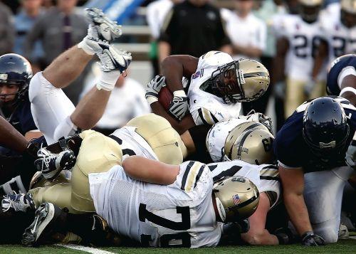 american football running back tackle