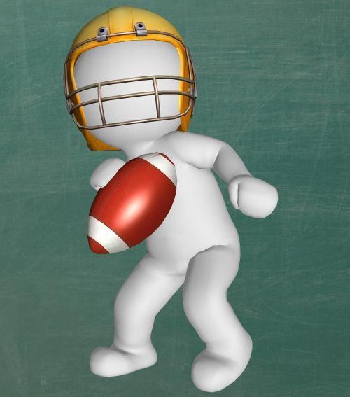 american football man football