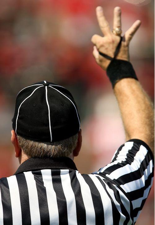 american football official referee football referee