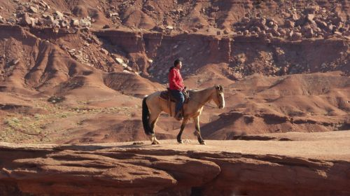 American Indian On Horse