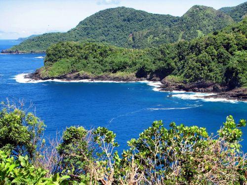 american samoa landscape scenic