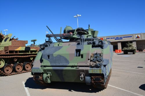 American Troops Camouflage Tanks