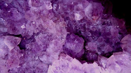 amethyst violet crystal cave