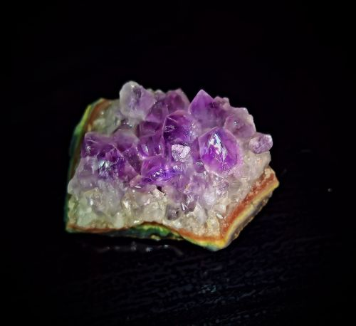 amethyst druze quartz