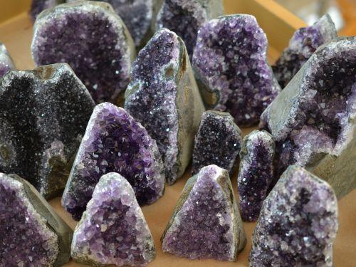 amethyst precious stone purple