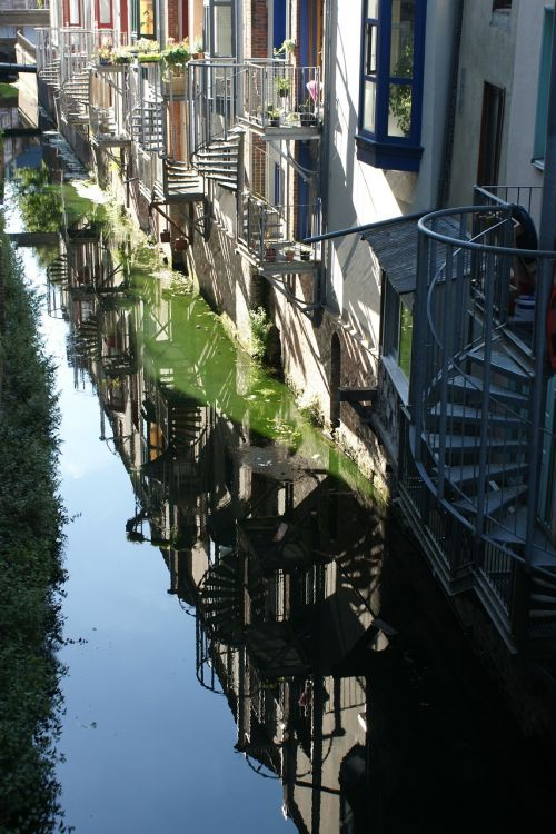 amiens france channels reflections