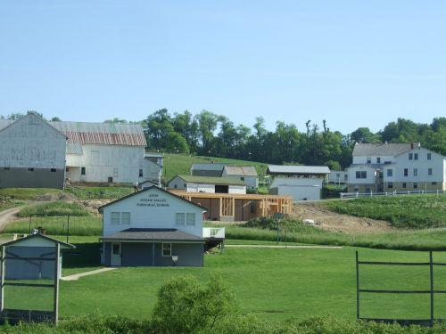 amish houses rural