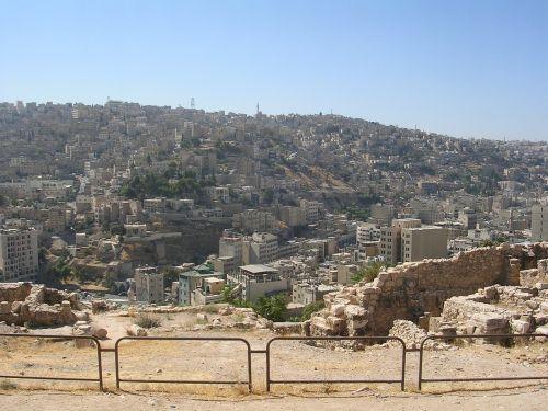 amman jordan citadel hill