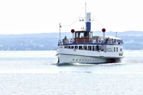 ammersee steamer paddle steamer
