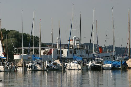 ammersee water boats