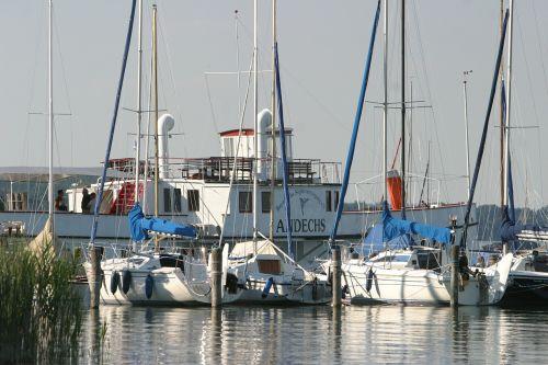 ammersee bayern summer ships