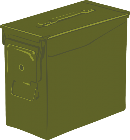 ammo can box container