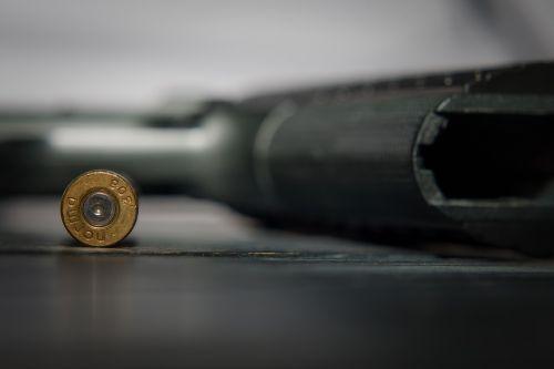 ammunition pistol weapon