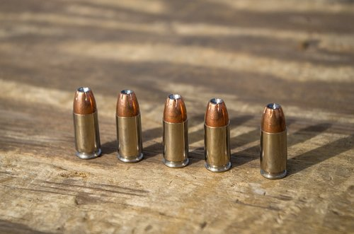 ammunition  9mm  hollow point