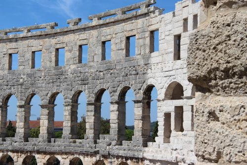 amphitheater botswana croatia