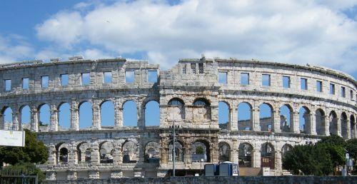amphitheater pula arena