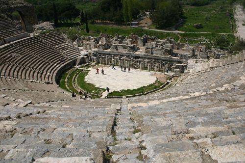 amphitheater turkey archeology