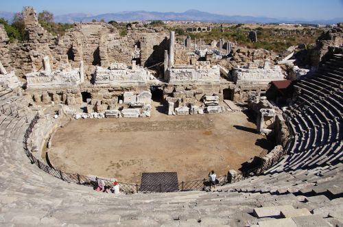 amphitheater turkey antiquity