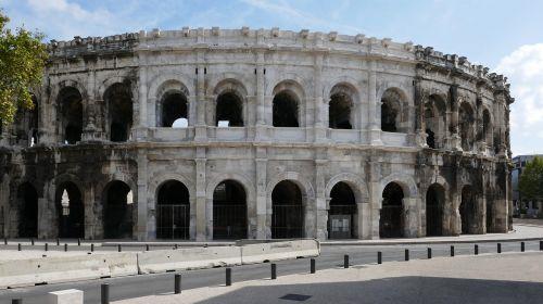 amphitheatre nimes france