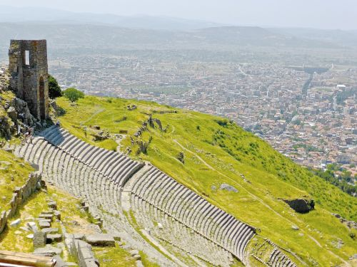amphitheatre bergama turkey