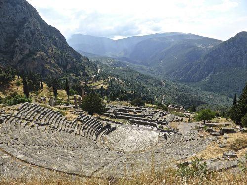 amphitheatre roman delphi