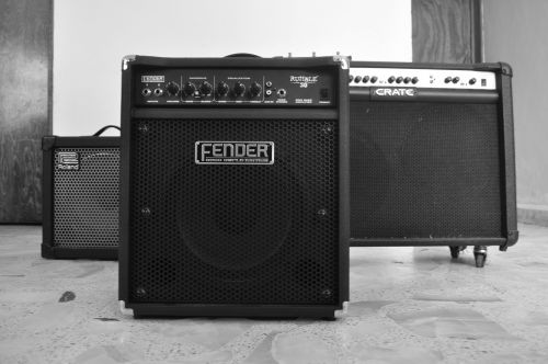 amplifiers music fender