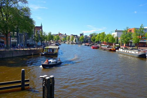 amsterdam amstel river city center