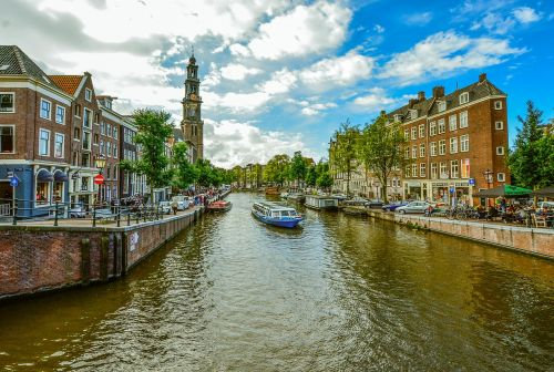 amsterdam canals boat