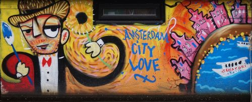 amsterdam graffiti art