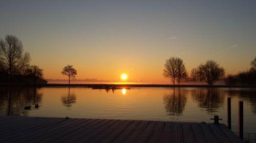 amsterdam amstel sunrise