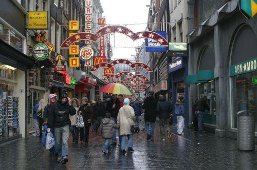 amsterdam holland rain