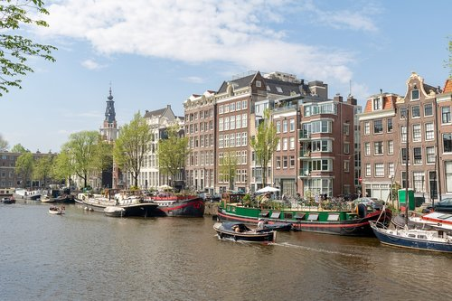 amsterdam  canal  architecture