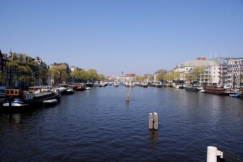 amsterdam  canals  city